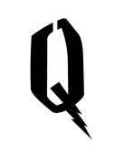 16x20 Large Letter Stencil-Wizard Font from 4 Ply Mat Board -Letter Q