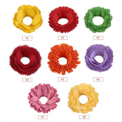 Paper Quilling Flowers Strips Set, 80 Strips DIY Quilling Art Paper Different Type Colourful Origami Paper Hand Craft Decoration
