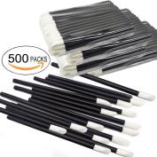 500Pcs/Set Disposable Lip Brushes Make Up Brush Lipstick Lip Gloss Wands Applicator Tool Makeup Beauty Tool Kits