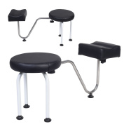 New Pedicure Reflexology Station Chair Manicure Spa W/Foot Rest Salon Equipment