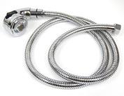 Set 2 Function 1.3cm water sprayer hose + head for pedicure spa chair nail salon