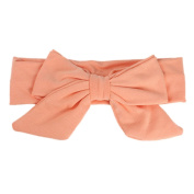 Susenstone Baby Bowknot Hairband Cotton Infant Kids Girl Phtography Props Hairband