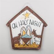 Glory Haus 9990207 Oh Holy Night Burlee Wall Decor