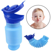 Pueri Unisex Baby Child Urinal Potty Bottle Portable Retractable Emergency Toilet for Camping Car Travel and Kid Potty Pee Training