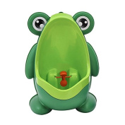 Kool KiDz Cute Frog Potty Training Urinal for Boys with Funny Aiming Target