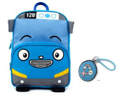 Tayo Kid's Backpack with Coin Purse for Toddler