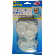 Child Safety Outlet Plugs - Child Proof - 18 Value Pack