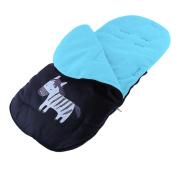 Stroller Footmuff Universal Baby Infant Toddler Stroller Sleeping Bag Black/Pink/Blue