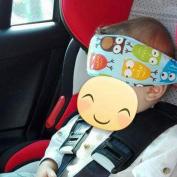 WEKA 2Pcs Toddler Infants Baby Head Support Soft Pram Stroller Safe Fastening Belt Adjustable Playpens Sleep Positioner