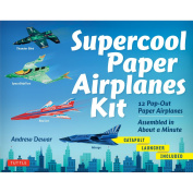 Tuttle Supercool Paper Aeroplanes Kit