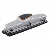 Office Depot(R) Brand 3-Hole Paper Punch, 10-Sheet Capacity, Silver