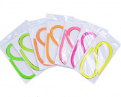Raylinedo DIY Party Decoration Quilling Paper Strips Quilling Art Strips 700 Strips 7 Colours Quilling Paper Set 5mm Width 54cm Length