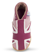 NEW Daisy Roots Baby Shoes - Union Jack