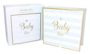 Tracey Russell Large Baby Boy Gift Keepsake Box Mum To Be Christening Baby Shower