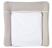 Schardt 1/686 Changing Mat with Removable Frotteb Cushion 186 x 80 x 75 cm Beige with Dots – Applique