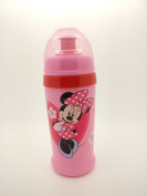 DISNEY Baby Clip & Go Pull Top Slipper Bottle (Pink Minnie Mouse) BPA FREE