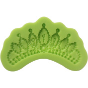 Funshowcase Crown Queen Tiara Silicone Mould for Sugarcraft, Cupcake Topper, Jewellery, Polymer Clay, Crafting Projects Mini