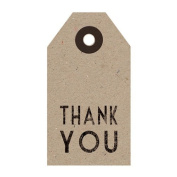 East of India Thank You Kraft Tag