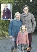 Hayfield Family Cardigans Bonus Knitting Pattern 7143 Aran