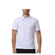 Men's Sports Polo Shirt - Xjp Casual Slim Short Sleeve Cotton T-shirts Tops