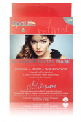 My Spa Life Facial Mask, Glamour Platinum, Retinol & Hyaluronic Acid, 3 Ct