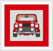 Cross Stitch Kit Car