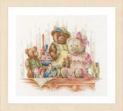 Lanarte - Bears and toys - Marjolein Bastin Cross-stitch kit