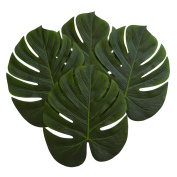36cm Imitation Green Plant Leafs for Hawaiian, Zoo or Tropical Themed Parties Luau Decorations