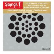 Asian Dots Stencil 15cm x 15cm