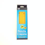 Jot Wood #2 Pencils - 24 pcs
