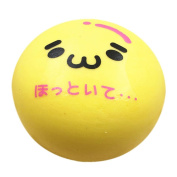 1PC Emoji Toys, WM & MW Soft Squeeze Emoji Yellow Ball Scented Slow Rising Toys Squishy Stress Reliever Toys Kids Gift