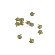 Price per 590 Pieces Jewellery Making Supply Charms Findings Filigrees F6BT3P Gold Ingot Antique Bronze Findings Beading Craft Supplies Bulk Lots