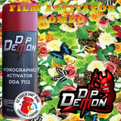 Combo Kit Butterfly Garden Flowers Hydrographic Water Transfer Film Activator Combo Kit Hydro Dipping Dip Demon