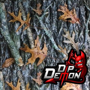 Oak Leaves Camouflage Camo Hunting Hydrographic Water Transfer Film Hydro Dipping Dip Demon