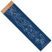 Groovi Plate by Claritystamp ~ Shoes Groovi Border Plate, GRO40497