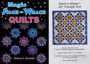 Stack-n-Whack Bundle- Magic S-n-W Quilts Book and 45-degree Triangle Template Tool