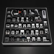 42 PCS Domestic Sewing Machine Foot Presser Feet Kit Sewing Machine Accessories