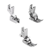 3pcs Industrial Flat Bed Sewing Machine Replacement Presser Feet for Thick Fabric