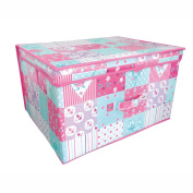 AQS Children Foldable Pop Up Large Storage Chest Toy Book Box Tidy Space Saver New