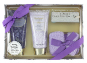 Kensington Studio Foot Spa 4-Piece Gift Set, Lavender