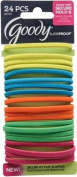 GOODY - SlideProof Flat Elastics Logo Bright - 24 Pack