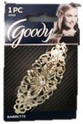 GOODY - FashioNow Luxe Rhinestone Centre Autoclasp - 1 Pack