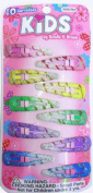 SHALOM - Kids Barrettes - 10 Pieces