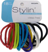 SHALOM - Clasp Free Ponyholders - 20 Pack