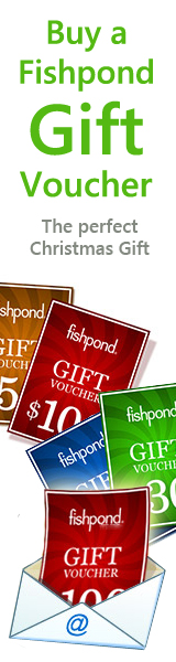 19 Million Choices with a Fishpond Gift Voucher